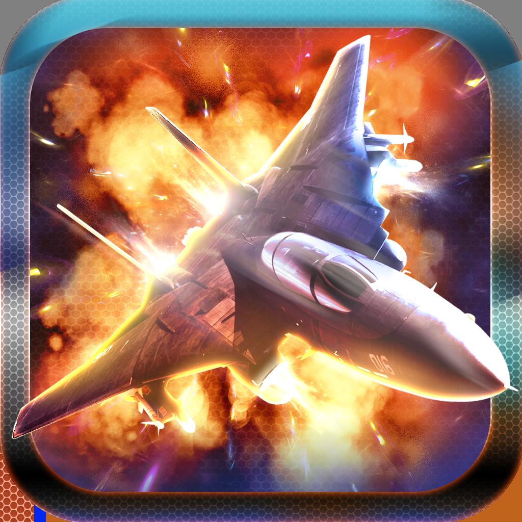 Aerial Jet War Shooting: Fighter Air Combat Game HD Free