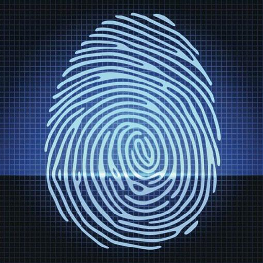 police records system with biometric
